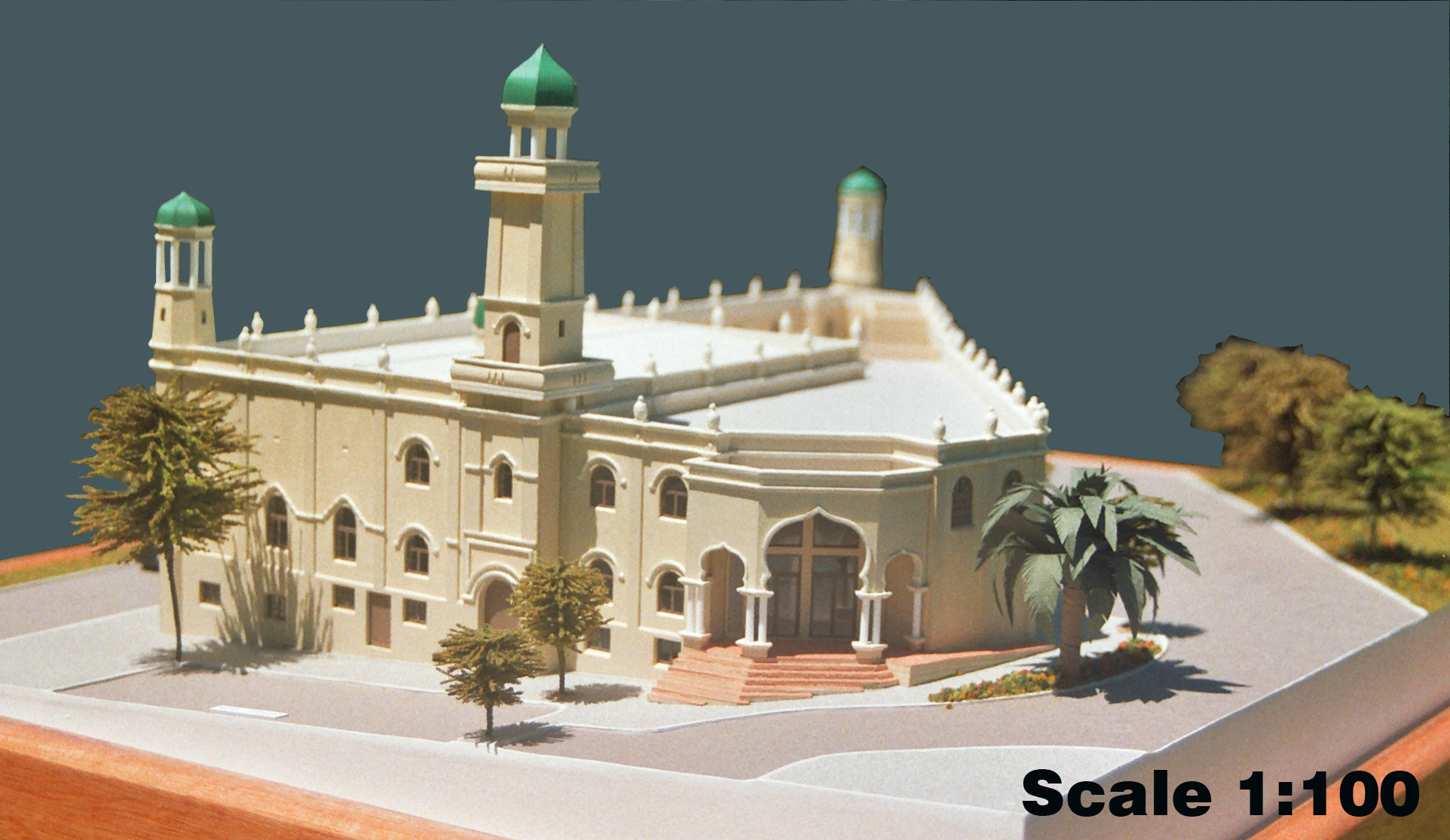 Scale 1-100 Mosque, Cape Town