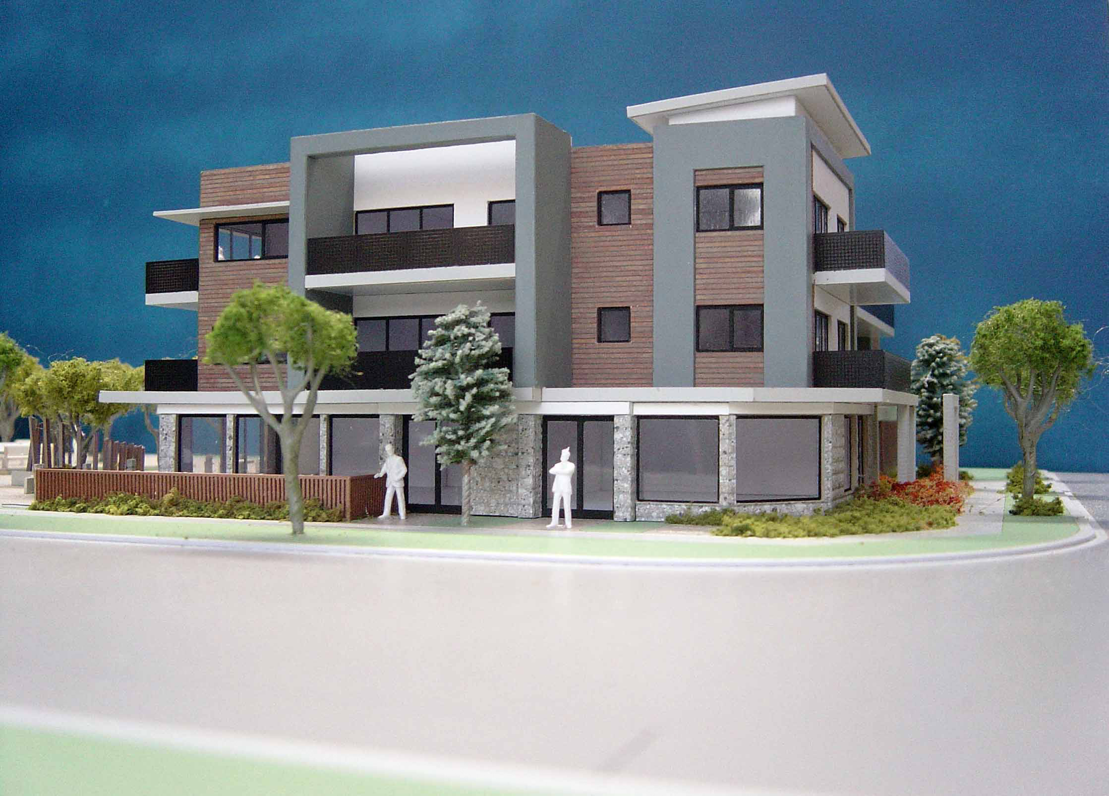 Scale 1-100 Inverell Parkway Apartments, Victoria