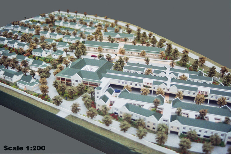 Scale 1-200 Oude Westhof Aged Care Village