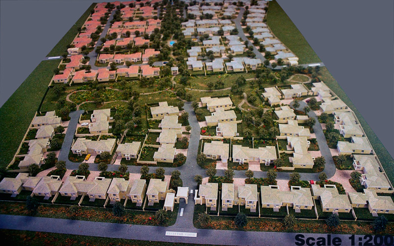 Scale 1-200 Group Housing, Somerset West