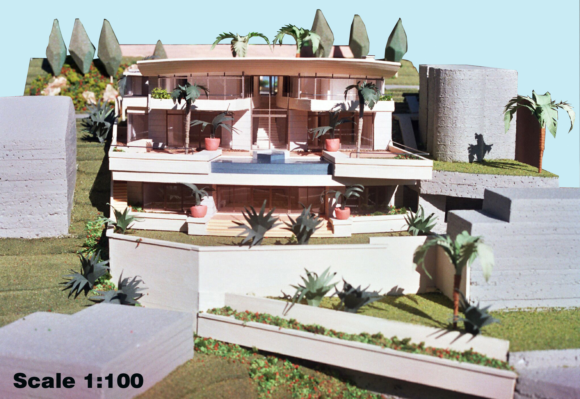 Scale 1-100 Single Residence, Clifton