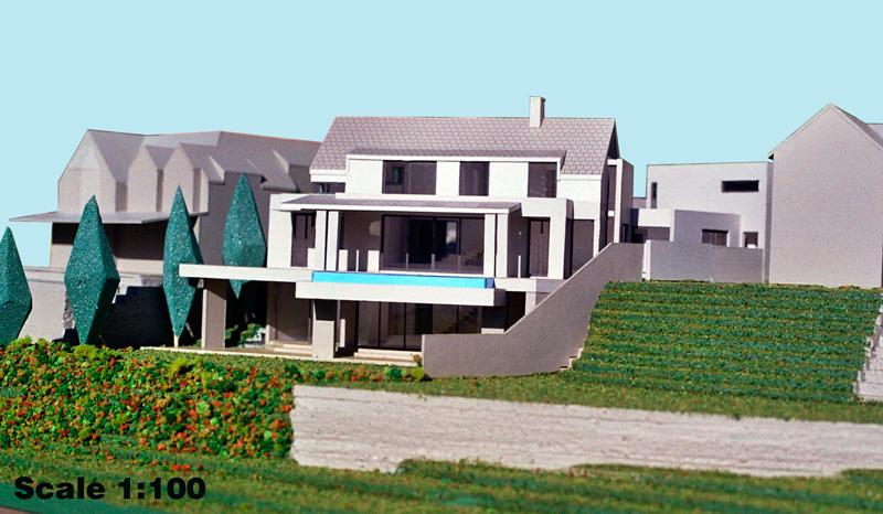 Scale 1-100 Single Residence, Hout Bay