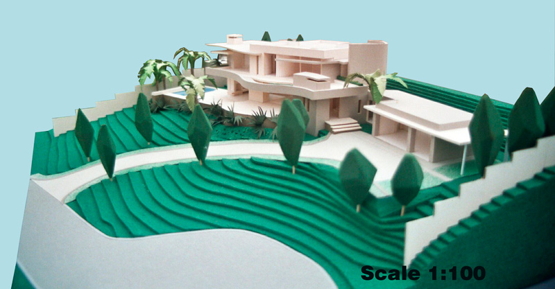Scale 1-100 Single Residence, Cape Town