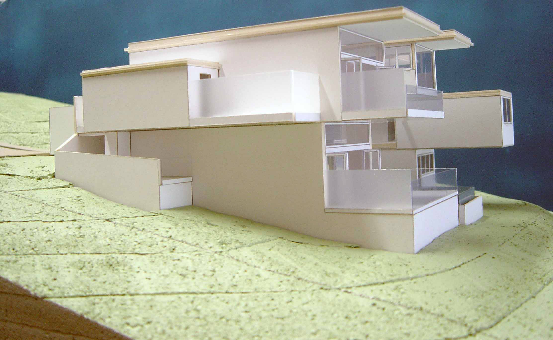 Scale 1-100 Single Residence Study Model. Victoria