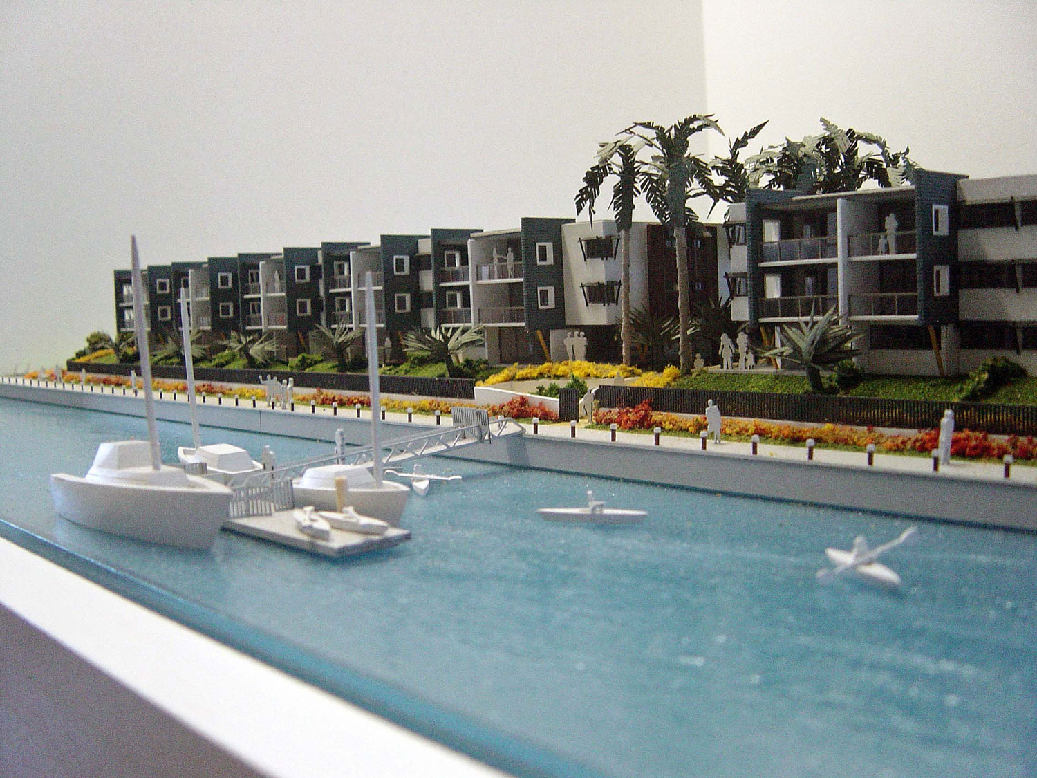 Scale 1-150 Marine Apartments, Sunshine Coast