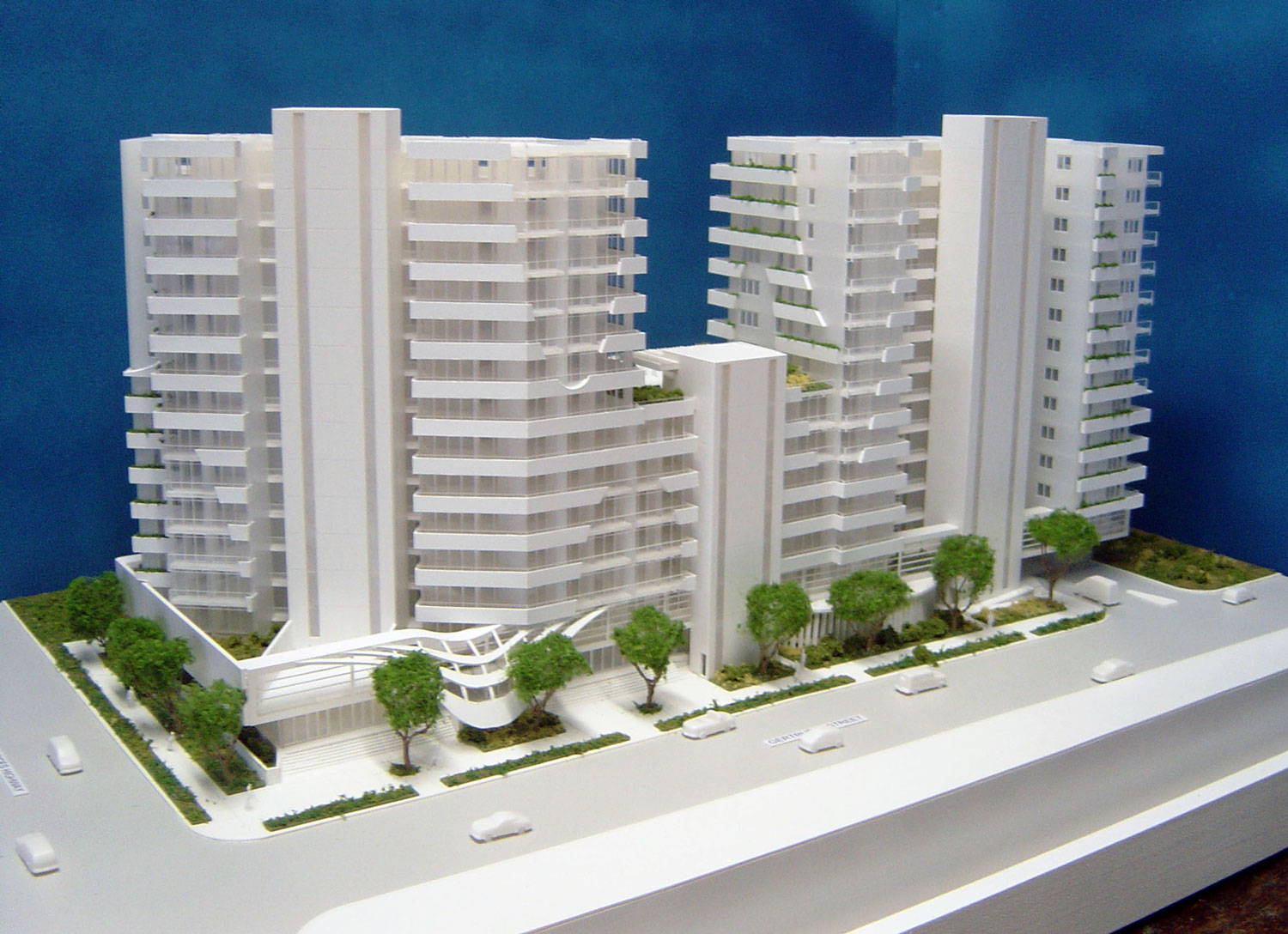 Scale 1-200 DA Model Wolli Creek, Sydney